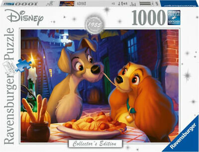 Disney Collectors Edition-Lady And The Tramp 1000 Piece Puzzle-ExpeditedShipping