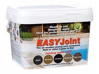 Azpects Easy Joint Jet Black - very easy way to grout your patio