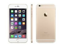 iPhone 6s Plus gold and white 16gb