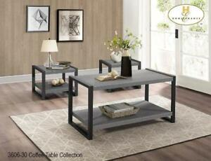 Grey Coffee Table Set on Sale  - furniture Sale (BD-2344)