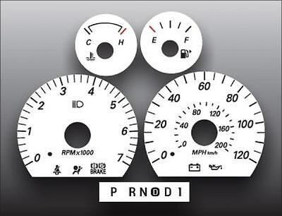 2005-2007 Ford Taurus Sable White Face Gauges 05-07