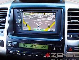 "Zenec Z-N720H 6.2"" w/Street & HEMA Maps + Toyota Fit Kit Liverpool Liverpool Area Preview"