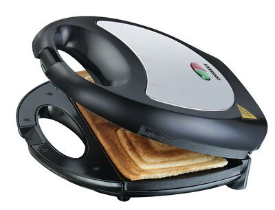 Melissa Sandwich-Maker Toaster Sandwichtoaster Sandwichmaker Back-Automat Silber