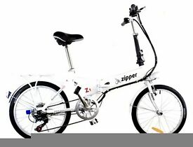 NEW Z1 7 SPEED ELECTRIC FOLDING BIKES FREE UK DELIVERY