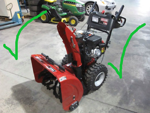 ***WANTED***  broken snowblowers  ***WANTED***