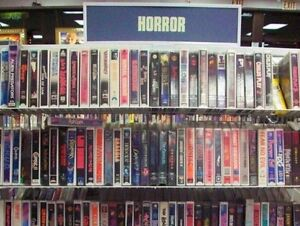 Looking for HORROR VHS Big Box Clamshell and more