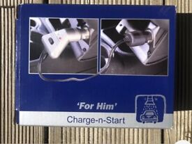 Charge and Start Car Battery Charger