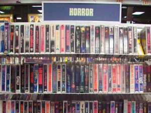 LOOKING FOR HORROR VHS
