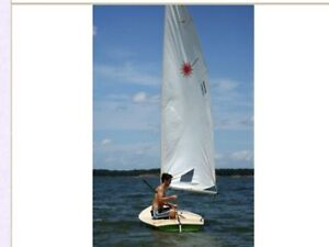 For RENT- Laser 1 Sailboat