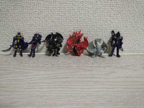 Rare Yu-Gi-Oh! Duel Monsters Morinaga Snack Figure Six Body Set Vintage