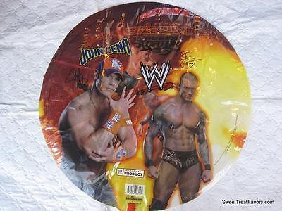 WWF Wrestling Party Supplies BALLOON Decoration Favors x2 Cena Undertaken Mylar