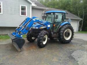 New Holland TD5050 tractor
