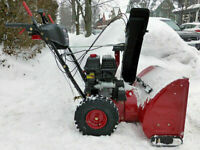 MOBILE SNOWBLOWER REPAIR SERVICE