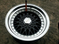 "BBS RS style brand new Alloy wheels 16"" inch x 9j 5x100 Seat cordoba Ibiza leon Toledo alloys wheel"