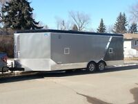 Enclosed trailer rental for free you take to Regina