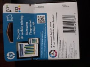 Brand New. HP Printer Ink 932 XL Black & 933 for sale (50% off)