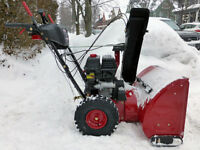SNOWBLOWER REPAIR