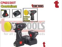 SEALEY CP6015KIT 14.4V CORDLESS LITHIUM-ION VARIABLE SPEED POLISHER/SANDER 75MM COMBO