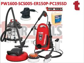 SEALEY PW1600 PC195SD PRESSURE/POWER WASHER CAR CLEANING & VALETING WASH DEAL