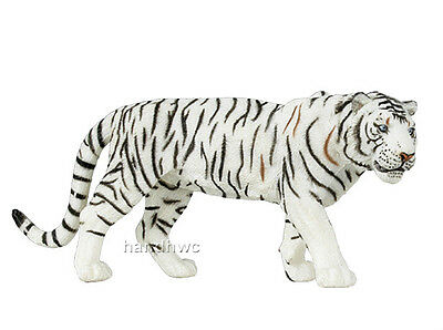 Papo 50045 White Tiger Model Wild African Animal Figurine Toy Replica - NIP
