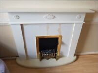 Electric Fire place / Heater & Surround