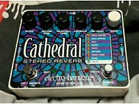 Electro Harmonix Cathedral (Reverb Guitar Pedal)