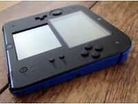 Nintendo blue and black 2ds