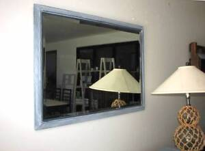Large Bevelled Edge Beach House Mirror ~ Like New Varsity Lakes Gold Coast South Preview