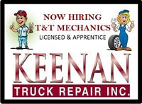 Truck & Trailer Licensed Mechanic Wanted