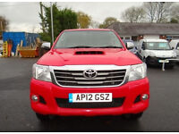 2012 Toyota Hi-Lux Invincible Very Clean Example With Good service History