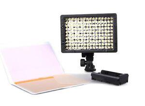 CN-160-LED-Video-Light-Camera-DV-Camcorder-Lighting-900lux-9-6W-5400-3200K