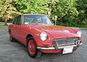 1969 MG MGB GT Coupe (2 door)