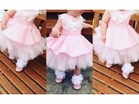 Beautiful baby girl dress 12 months