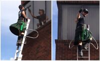 Window Cleaning.   Gutter Cleaning, Snow Removal