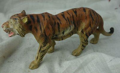 alte Elastolin Figur Tiger