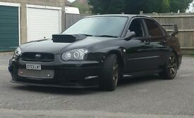 Subaru impreza 474bhp with proff massive spec skyline rs cosworth evo rx7 supra swap