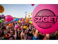 Sziget festival ticket 7 day pass and city pass