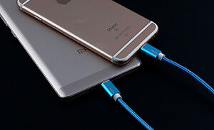 USB Lightning Nylon Braided Sync & Charging Cable for Apple 3FT