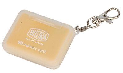 Bilora Memory Card Mini Case 4 Speicherkarten Schutzbox Cards 4x SD