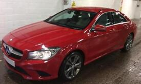 MERCEDES-BENZ CLA JUPITER RED 220 2.1 CDI SPORT COUPE DIESEL FROM £77 PER WEEK!