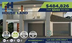 House and Land   Lot 222 Morayfield Qld   Little or No Deposit Morayfield Caboolture Area Preview
