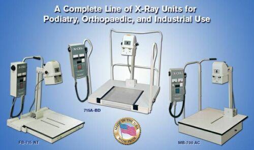 digital podiatry xray machine