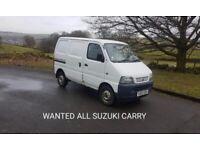 Wanted Suzuki carry vans mot failures none runners all needed
