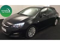 ONLY £158.31 PER MONTH BLACK 2013 VAUXHALL ASTRA 1.6 ENERGY 5 DOOR PETROL MANUAL