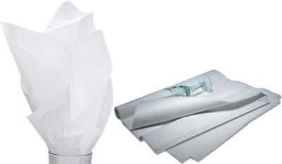 480 Sheets Solid White Tissue Paper Ream 20 X 30 - 11-01-9m