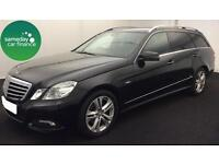 £271.97 PER MONTH BLACK 2010 MERCEDES-BENZ E220 2.1 AVANTGARDE DIESEL MANUAL