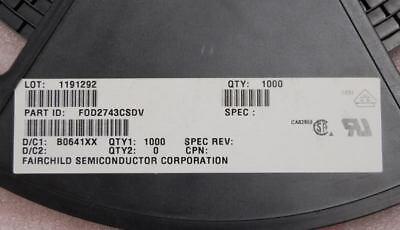 Fod2743csdv Fairchild Opto Error Amp 2 Ic 8-smd Fod 2743 Surface Mount