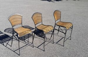 Rattan Counter  Chairs