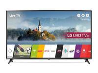 LG 43UJ630V 43 inch 4K Ultra HD HDR Smart LED TV (2017/18 Model)