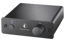 Project PHONO BOX USB V - MM/MC phono stage with USB output